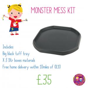 monster mess kit