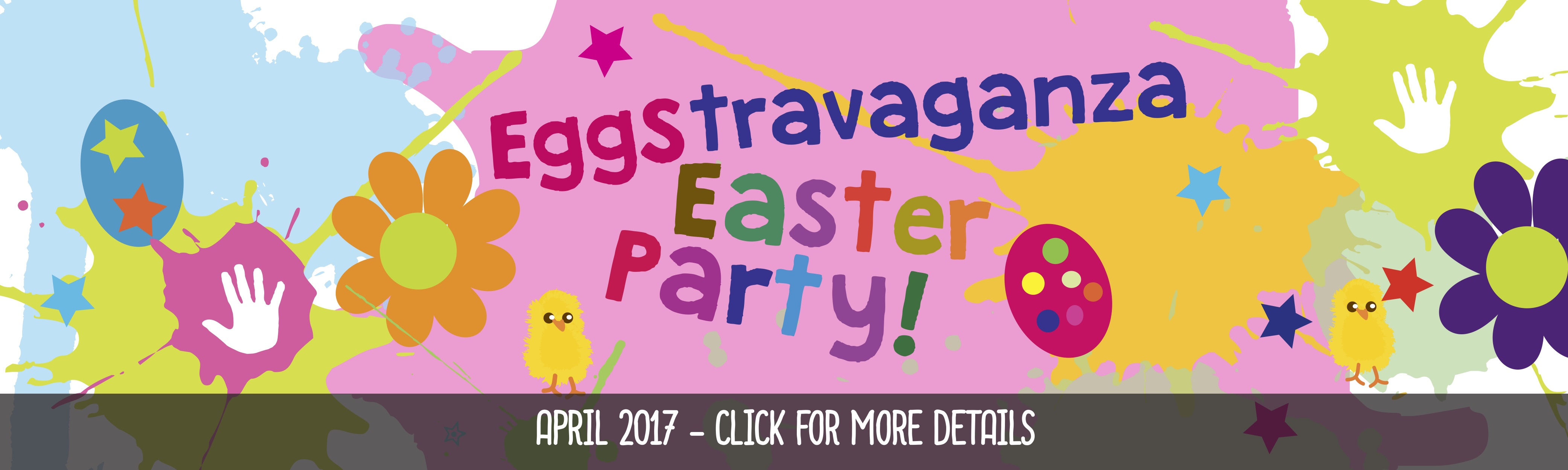 easter messy play parties