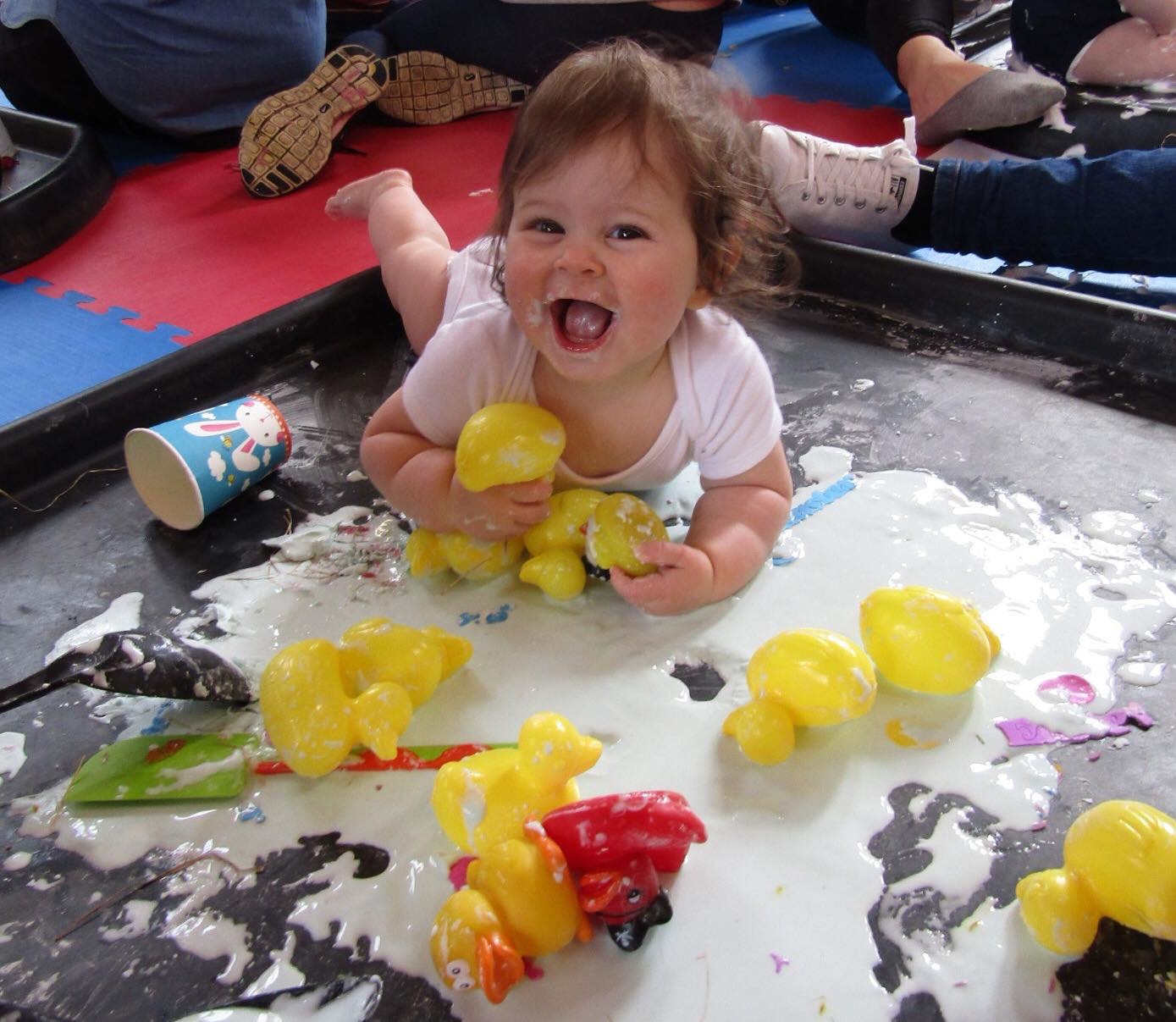 Messy Playroom: Messy Play Activities With Cornflour