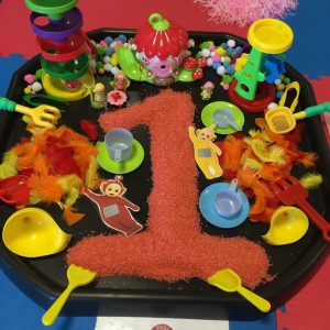 Messy Play Activities with Rice