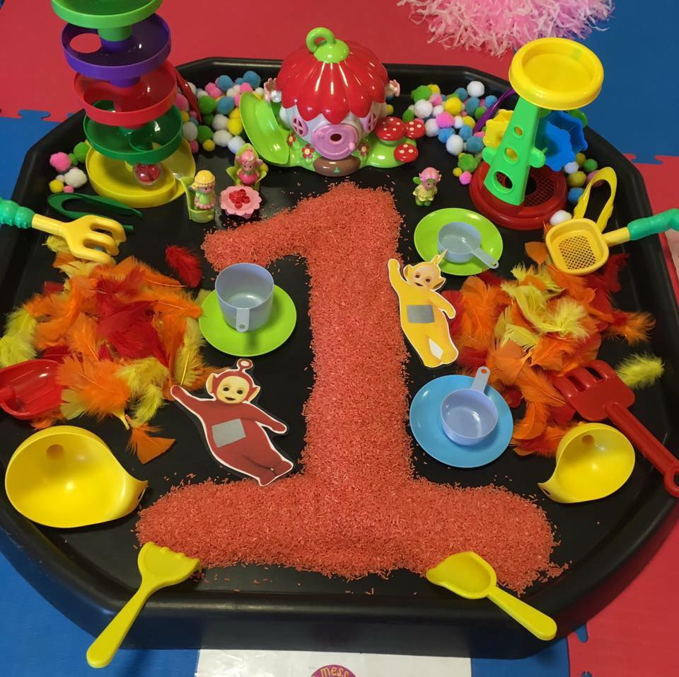 Messy Cups Plates: Messy Play Activities With Rice