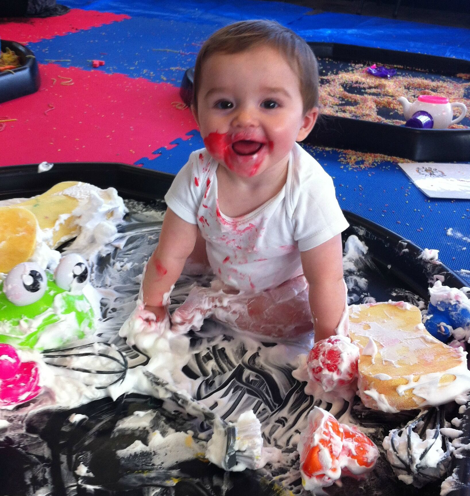 Messy Playroom: Fun Messy Play For Babies & Toddlers
