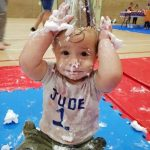 mess around birthday party messy play kids