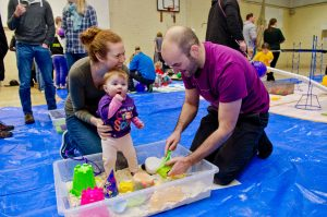 corporate family entertainment from mess around messy play
