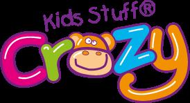 kids stuff crazy logo mess around messy play