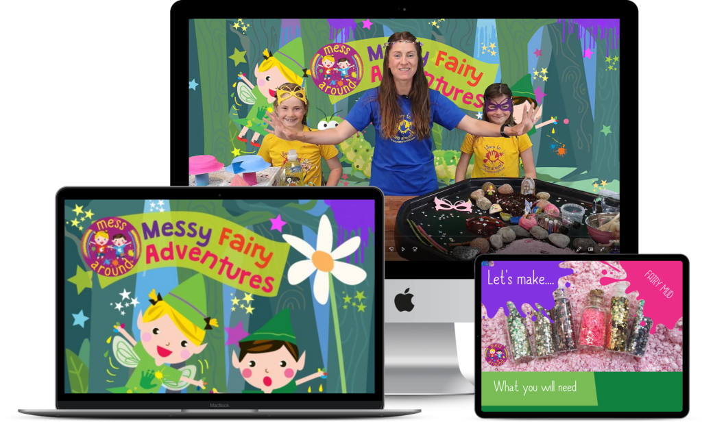 Make A Mess At Home Messy Fairy Adventure Mess Around